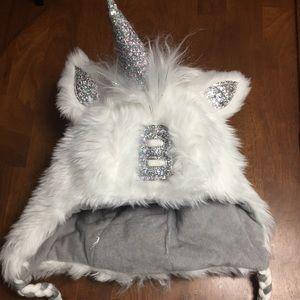 NWOT Justice Unicorn Winter Hat